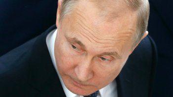 El presidente ruso, VladímirPutin.