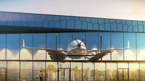 Construyen un parking para autos voladores en Miami