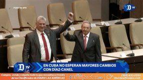 En Cuba no esperan mayores cambios con el mandato de Díaz-Canel