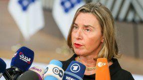 FedericaMogherini, Alta Representante de la Unión Europea (UE) para Relaciones Exteriores.
