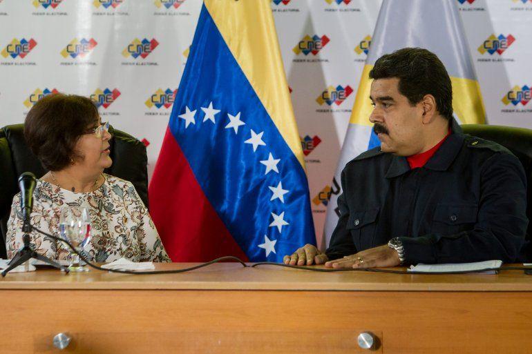 El gobernante venezolano NicolásMaduro(d)