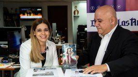 La escritora y editora cubana Dania Ferro, invitada al programa Juan Juan al medio, de DIARIO LAS AMÉRICAS.