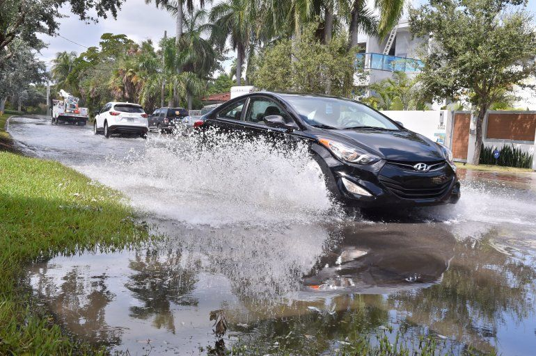 El verano tare fuertes lluvias al sur de la Florida.