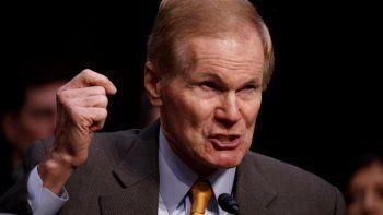 Senador demócrata de Florida, Bill Nelson.