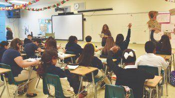 El Distrito Escolar de Miami-Dade es el cuarto más grande del país, con más de 356.000 estudiantes y una plantilla que supera los 18.000 maestros.