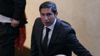 El exfiscal Luis Gustavo Moreno Rivera, de 36 años.