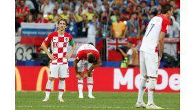 Modric, como le ocurrió el pasado Mundial de Brasil 2014 al argentino Leo Messi, recibió el reconocimiento un tanto triste tras haber perdido la final, ante Francia (4-2).