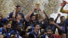 El conjunto galo celebró su segundo título mundial después de 20 años y tres finales.