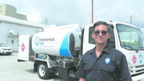 Jorge Camaraza, fundador y gerente general de Neighborhood Fuel.