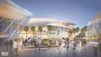 Proyecto del estadio de Beckham en Miami.
