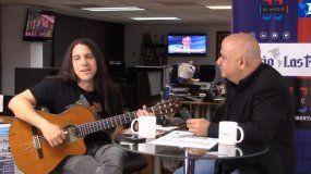 El músico cubano Boris Larramendi, entrevistado por Juan Juan Almeida.