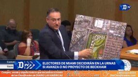 El futuro del estadio de Beckham se decidirá en las urnas