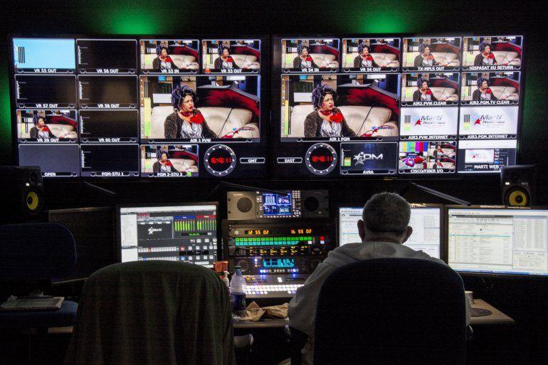Centro de transmisión de Televisión Martí