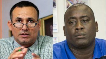 Los opositores del régimen cubano, José Daniel Ferrer y Jorge Luis García Pérez Antúnez.