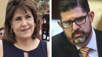 Annette Taddeo y Manny Díaz Jr.
