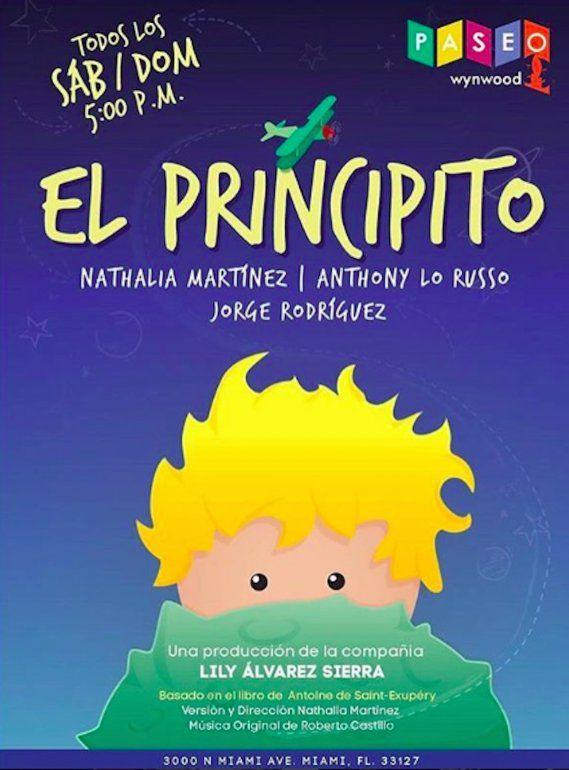 El clásico infantil El Principito se estará presentando todos los sábados y domingos, a las 5:00 pm, en el Paseo Wynwood.<br> <br>
