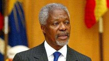 Kofi Annan, exsecretario general de la ONU, falleció a los 80 años.