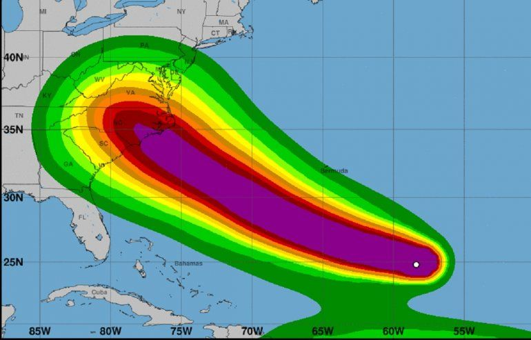 En la actual temporada de huracanes en el Atlántico se han formado nueve tormentas tropicales.