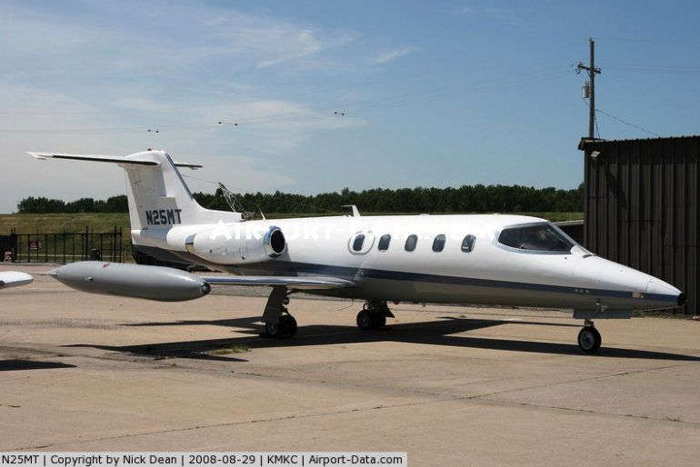 Uno de los aviones, presúntamente, sujetos de investigación.