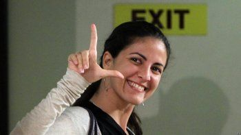Rosa María Payá, activista y promotora de la iniciativa CubaDecide.