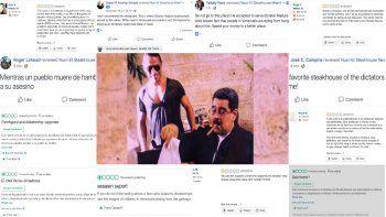Las reseñas negativas inundan las redes sociales del chef turco.