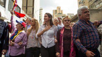 Maria Corina Machado, dirigente de Vente Venezuela.