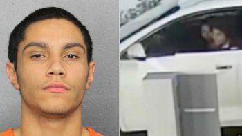 Albert Ponce, de 17 años, fueacusado como adulto en el tiroteoen unrestaurante Checkers,