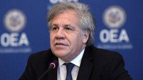 El secretario general de la Organización de Estados Americanos (OEA),LuisAlmagro.