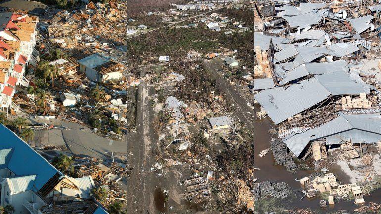 El huracán Michael dejó una estela de destrozos y desolación en las ciudades de Panama City y Mexico Beach, en el noroeste de la Florida.