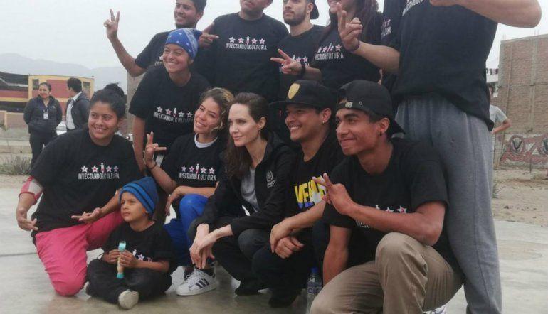 Jolie se entrevistará con diversas fuentes para documentarse mejor de la situación