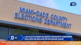 Las elecciones de medio mandato abren una era de reajustes en Miami-Dade