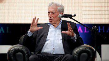 El Premio Nobel de Literatura peruano Mario Vargas Llosa