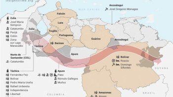 InSight Crime registró la presencia del ELN en más de 12 estados de Venezuela