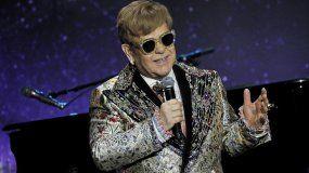 El músico británico Elton John.