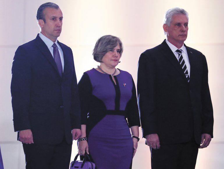 La primera dama de Cuba