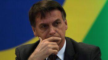 El presidente electo de Brasil, Jair Bolsonaro, es visto durante una reunión preparatoria del proceso de transición gubernamental.