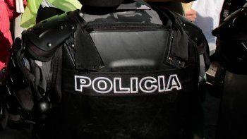 Un agente de la Policía de Ecuador.