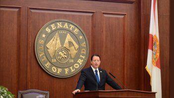 Bill Galvano, nuevo presidente republicano del Senado de Florida.
