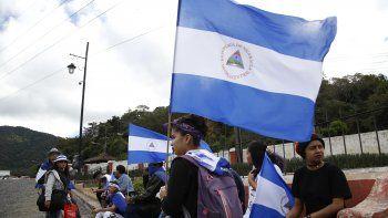 Las manifestaciones contra Ortega y Murillo, se iniciaron el 18 de abril pasado por unas fallidas reformas de la seguridad social y se convirtieron en una exigencia de renuncia del mandatario.