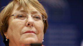 Alta comisionada de la ONU para los DDHH, Michelle Bachelet.