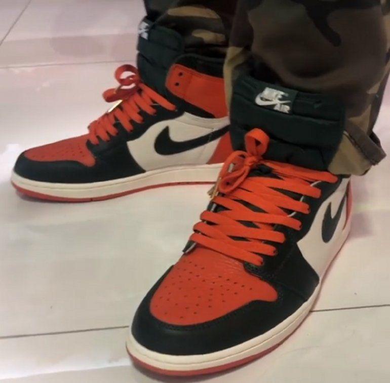 La nueva zapatillas.