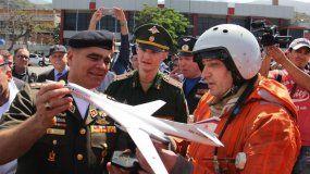 El Gobierno ruso envió dos bombarderos, un avión de transporte militar (Antónov 14) y un avión de pasajeros (Ilyushin62), que se estuvieron en Venezuela el pasado mes de diciembre.
