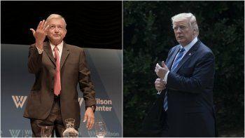 Pese a la cordial llamada que tuvieron ayer, Trump insistió en que será México el que cargue con la factura de su prometido muro.