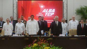 Reunión del ALBA-TCP.