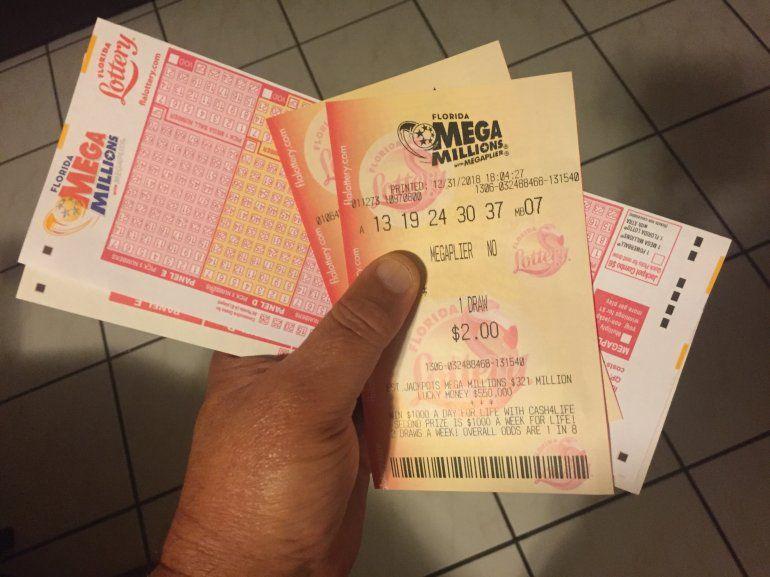 Lotería Mega Millions recibe el nuevo año con rifa de 425