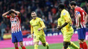 El Girona es el primer equipo que logra meter tres goles en el Wanda Metropolitano.