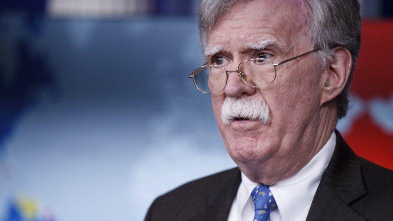 John Bolton, asesor de seguridad nacional de Estados Unidos.