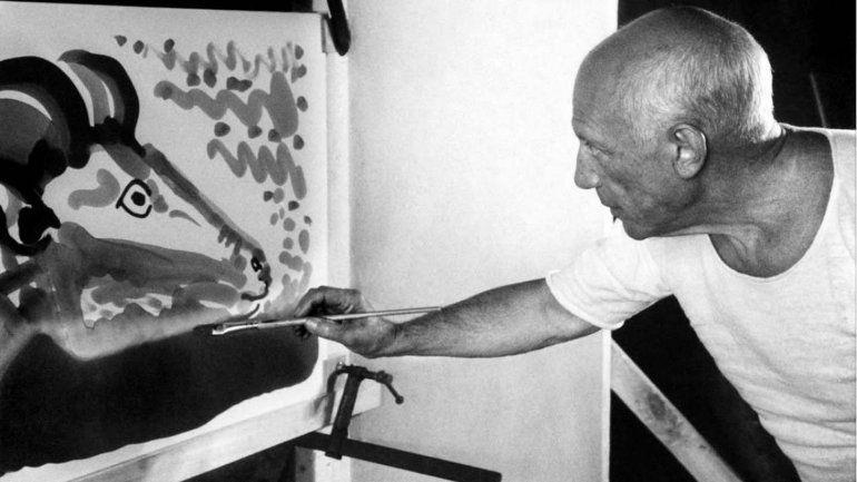 Resultado de imagen para Proyectarán en Nueva York histórico documental de Picasso en alta definición