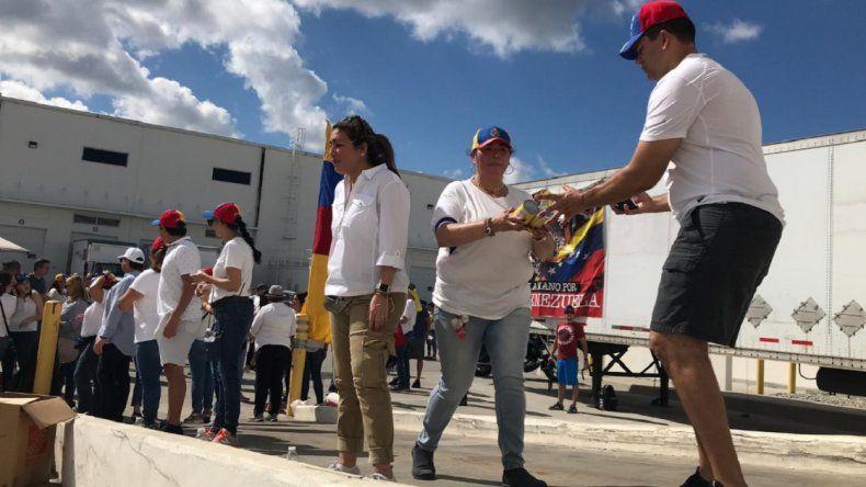En vivo: Jornada de ayuda humanitaria para Venezuela en Miami
