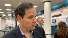 Marco Rubio, senador republicano por el estado de la Florida.